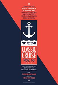 TCM Classic Cruise Poster
