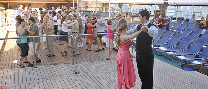 TCM Classic Cruise Onboard Activities