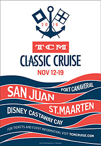 TCM Classic Cruise Poster