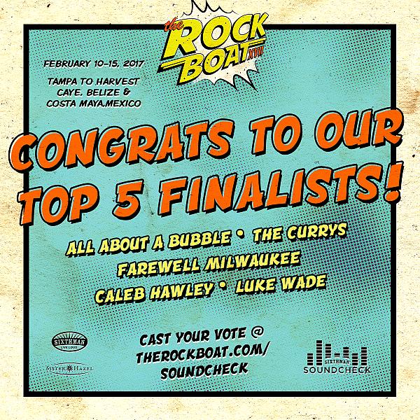 Top 5 Soundcheck Finalists Announced!