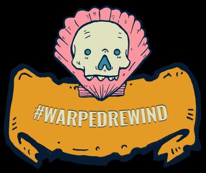 Warped Rewind at Sea on Instagram