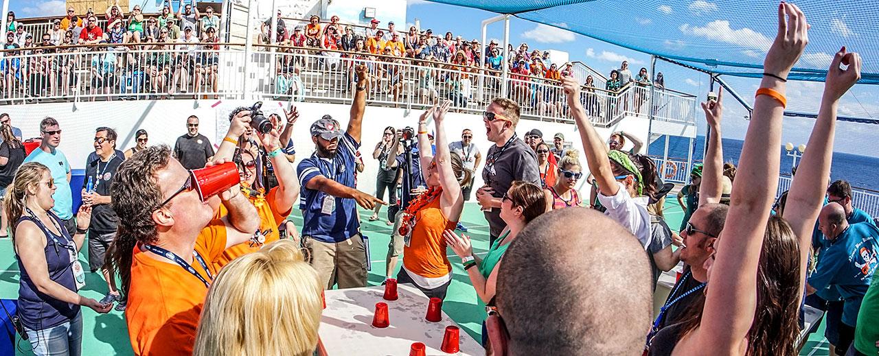 Brantley Gilbert's Kick It in the Ship Cruise Onboard Activities