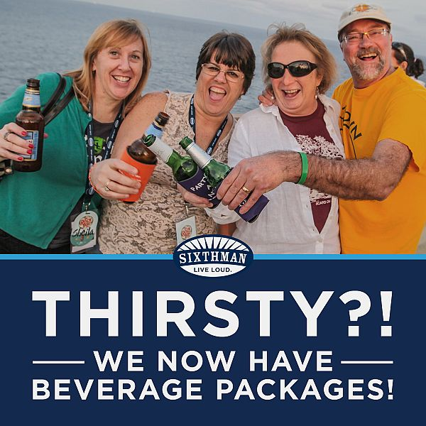 Beverage Packages are now on-sale!