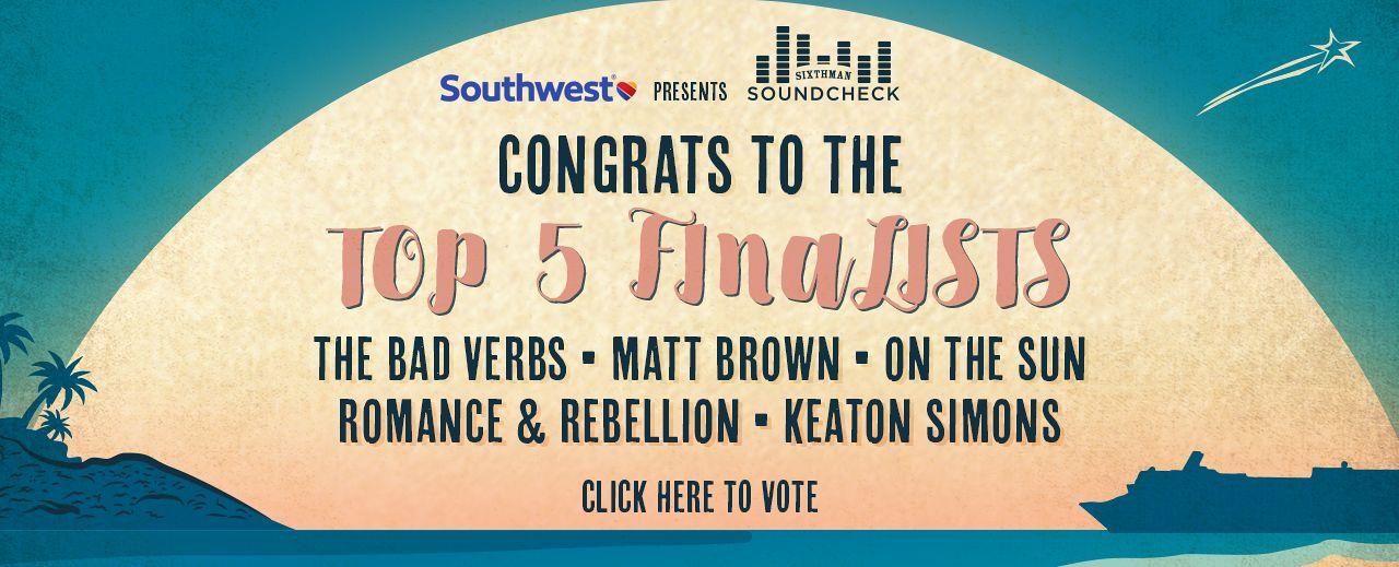 Soundcheck Top 5