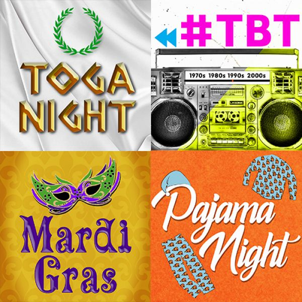 Theme Nights Announced!