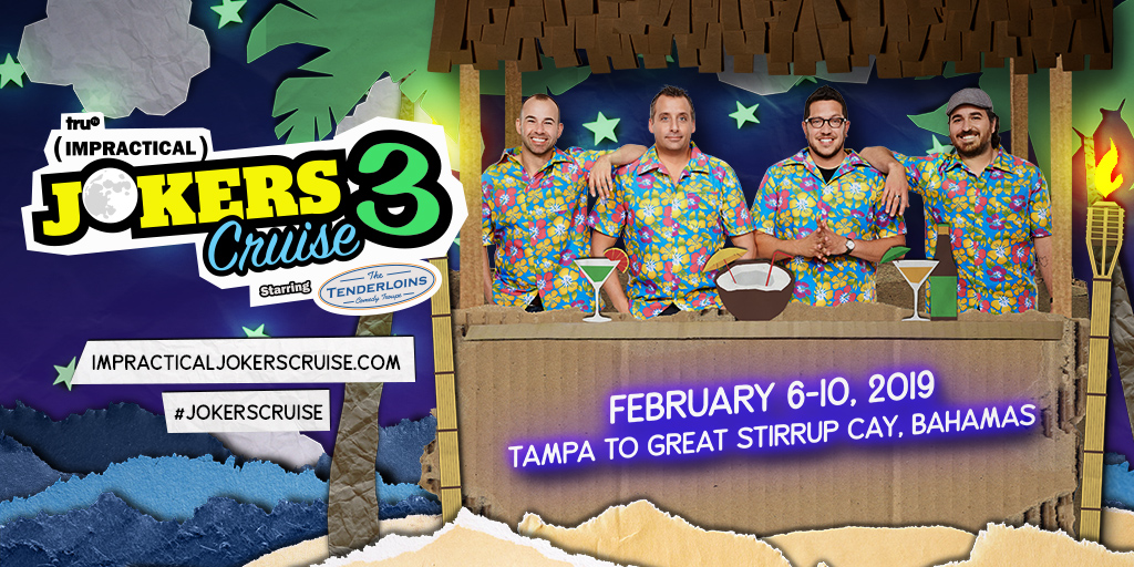 Impractical Jokers Cruise 2020.Impractical Jokers Cruise 2019 Giveaway