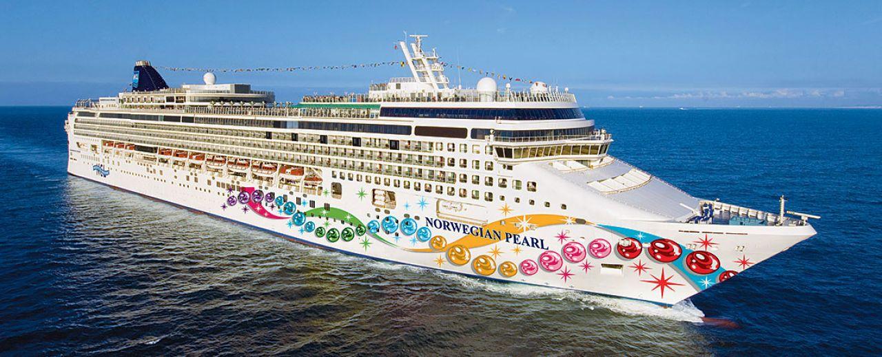 The Rock Boat February - Cruise ship google earth