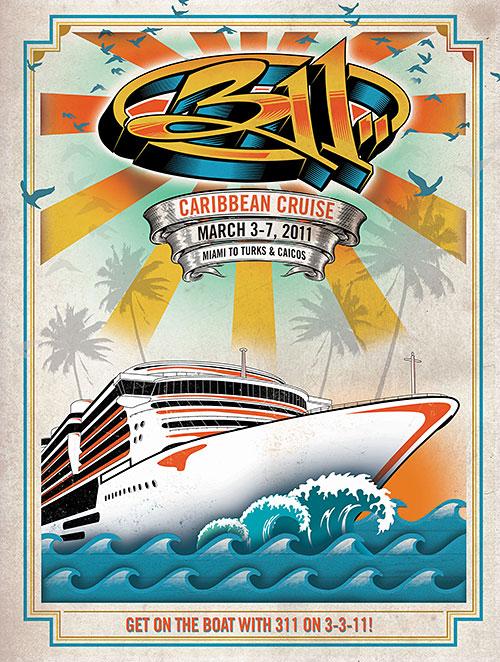311 Caribbean Cruise 2011