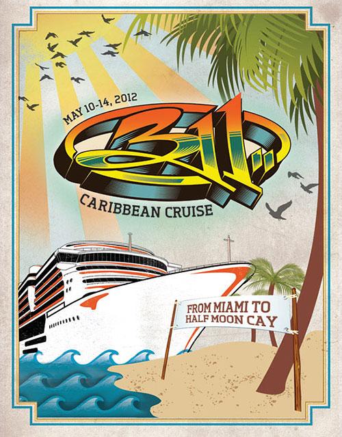 311 Caribbean Cruise 2012