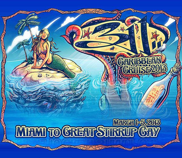 311 Caribbean Cruise 2013