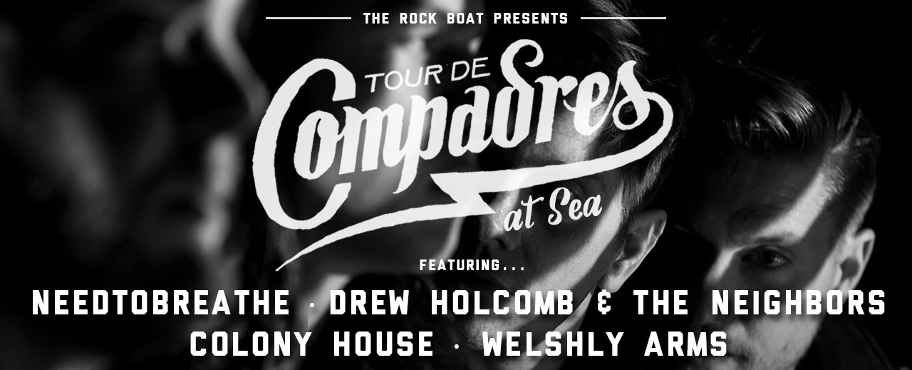 Tour De Compadres at Sea