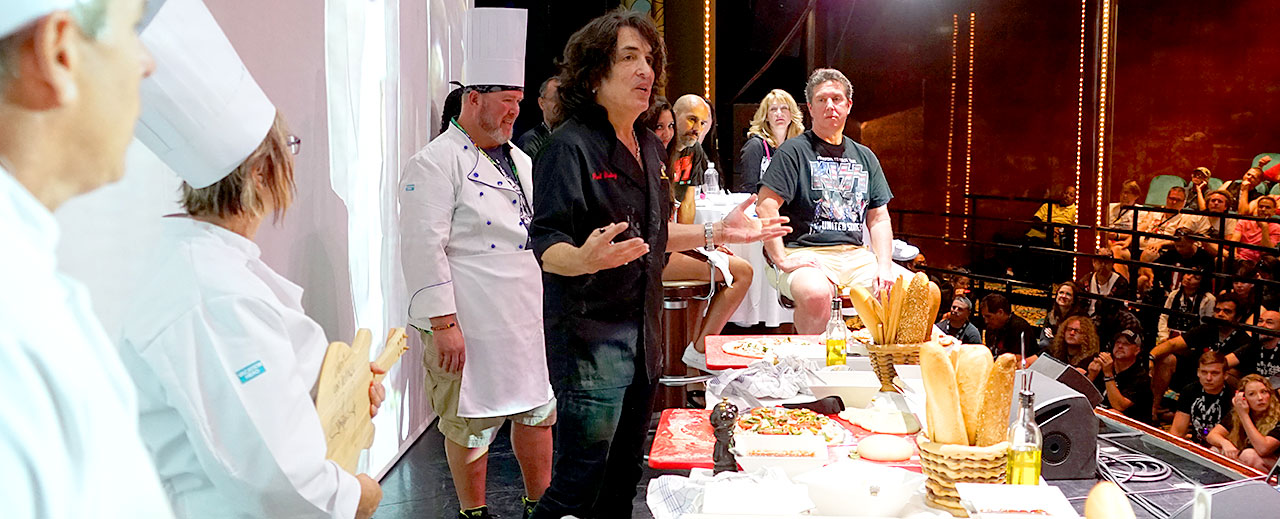 The Kruise Kitchen with Paul Stanley