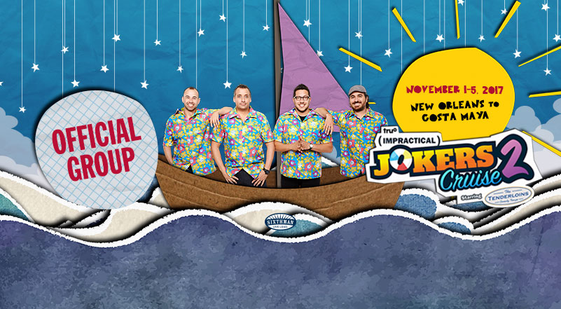 Impractical Jokers Cruise on Facebook