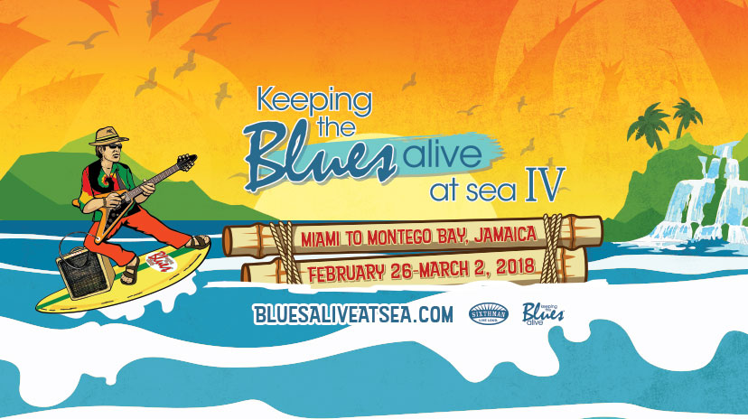 Blues Alive at Sea IV on Facebook